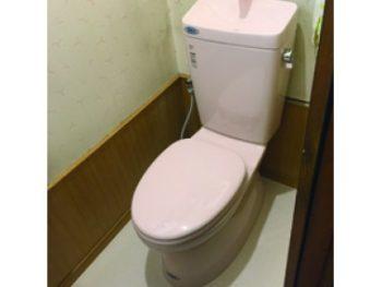 トイレ交換工事(リフォーム施工事例:鎌ケ谷市)
