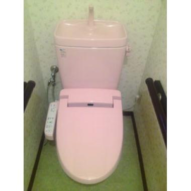 トイレ便座交換工事(リフォーム施工事例:流山市)