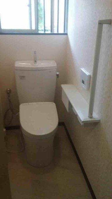トイレ工事(リフォーム施工事例:柏市)
