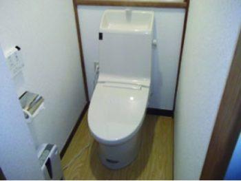 トイレ全面改装工事(リフォーム施工事例:松戸市)