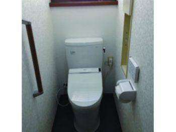 トイレ交換工事(リフォーム施工事例:松戸市)