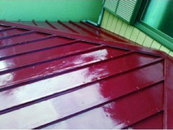 瓦棒屋根塗装工事(リフォーム施工事例:松戸市)