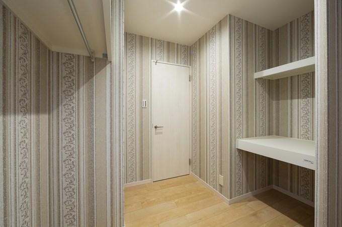 和室の一部を収納スペースに変更しました