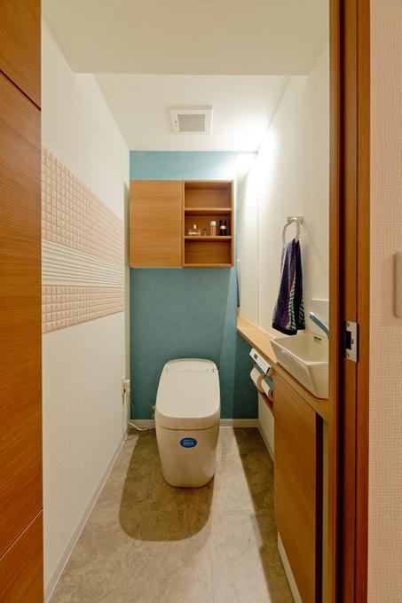 エコカラットのあるトイレ