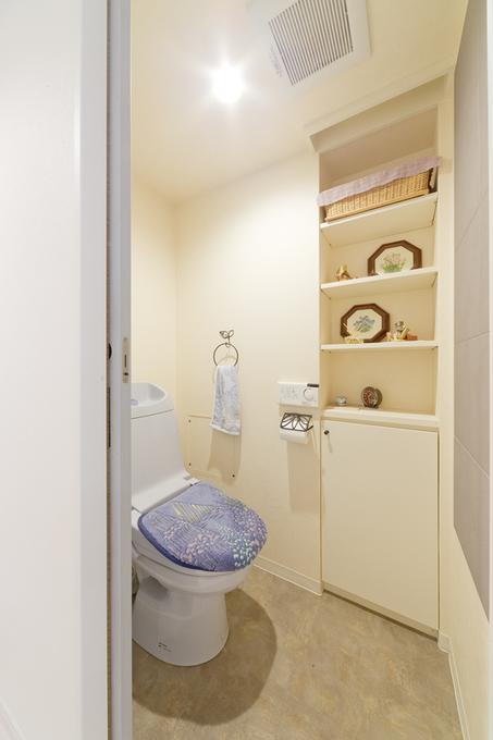 飾れるトイレ