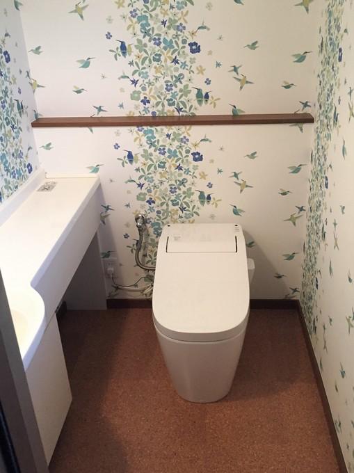 明るい気分になるトイレ