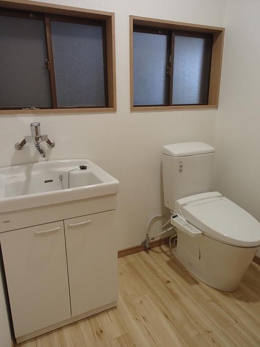 車いすでも快適なトイレ