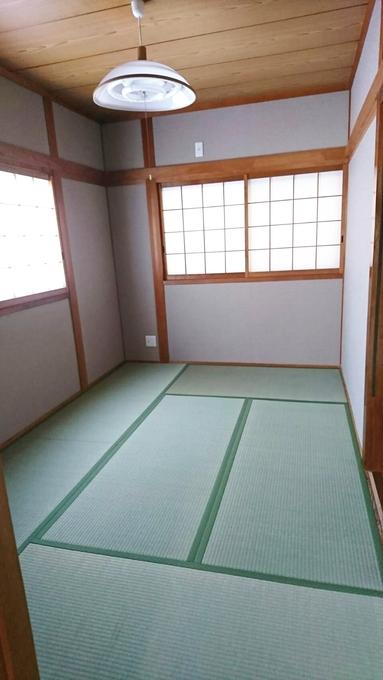 お客さまを呼びたくなる和室になりました
