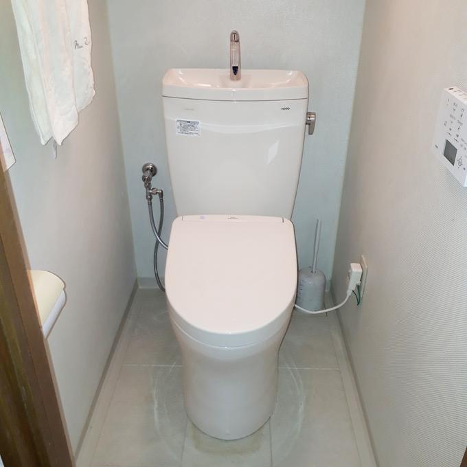 便座の機能アップで常に清潔なトイレ