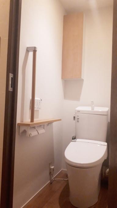 雰囲気も使い勝手もグレードがあがったトイレ室