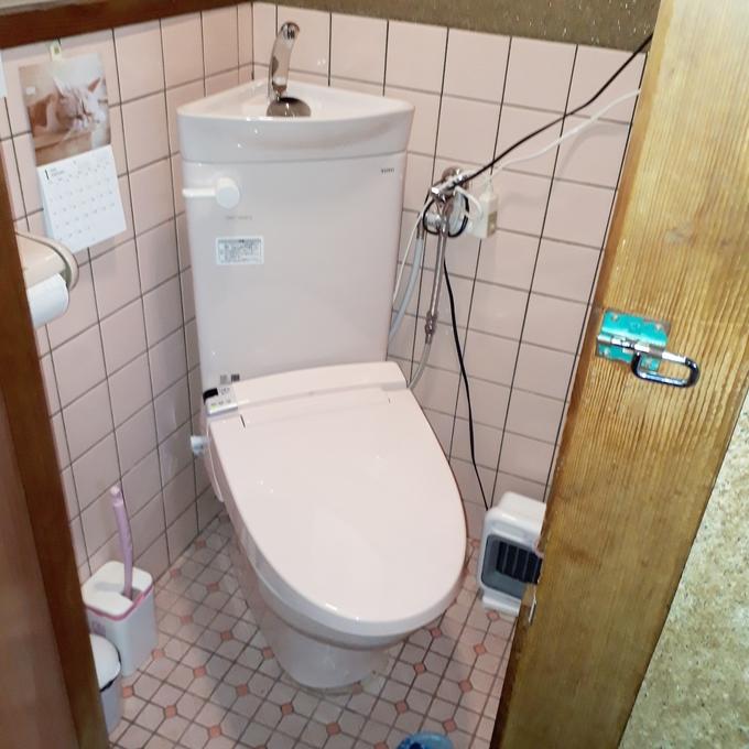 限られたスペースでも快適なトイレに
