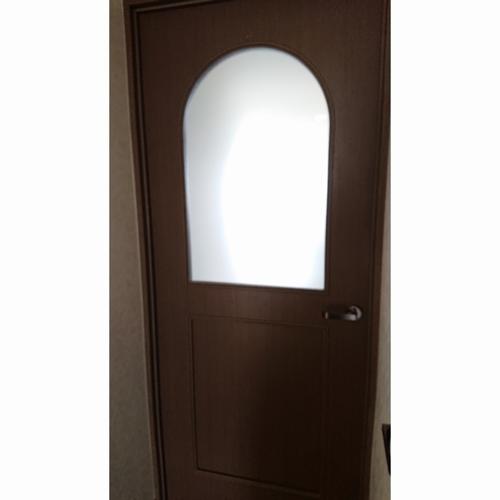 室内扉のガラス交換