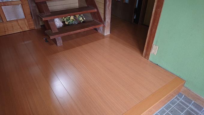床貼替え工事