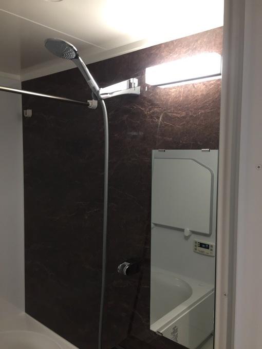 浴室サイズアップで広々快適なユニットバス