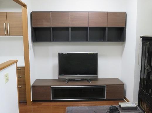 お客様のニーズに合ったTVボードを設置することができました。