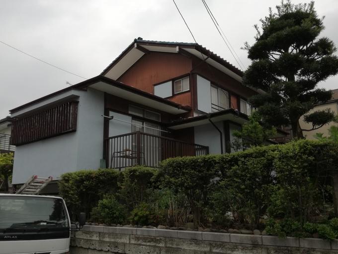 稲城市I様邸【外壁、屋根塗装・屋根工事】