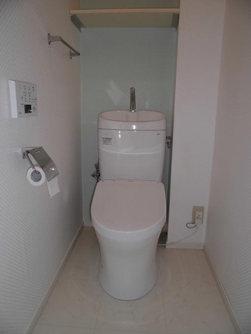 節水トイレでありながらスタイリッシュデザイン