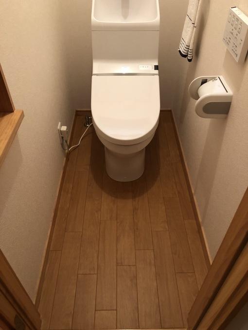 キレイが続くトイレへ