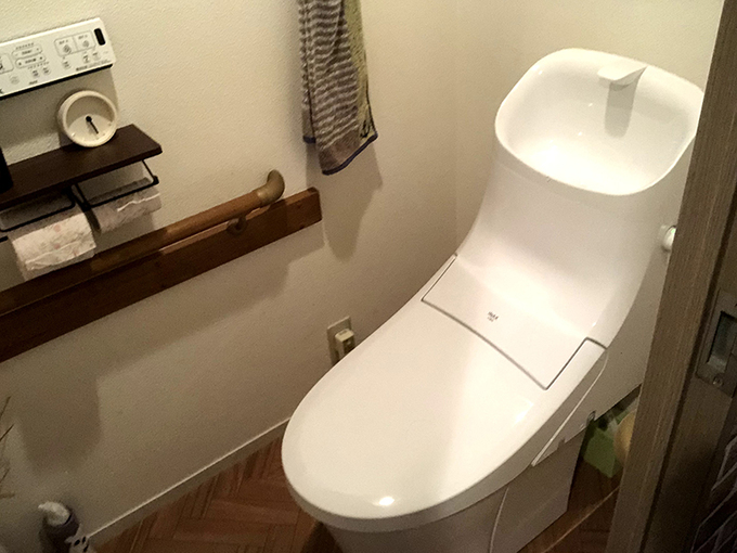 新しいトイレで気持ちいい生活