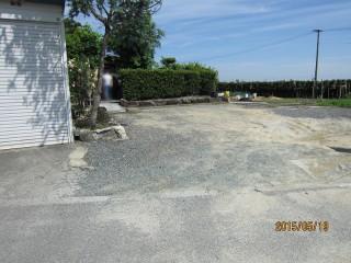 土間コンクリート・カーポート・門扉設置工事