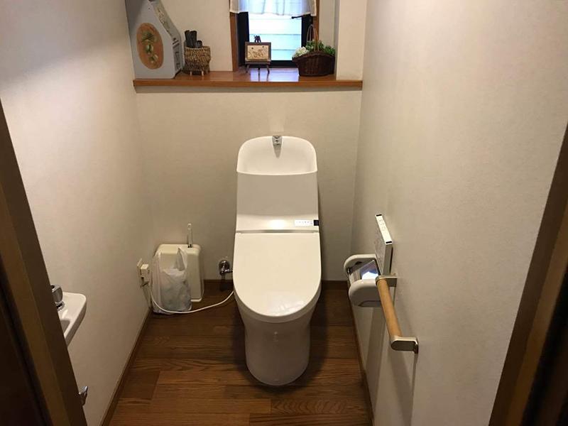 トイレ交換でリフレッシュ