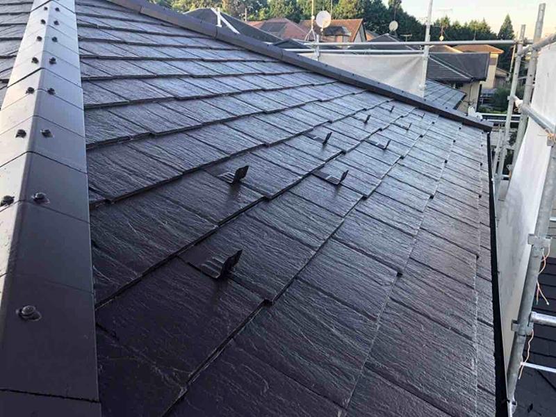 最後の屋根塗装!