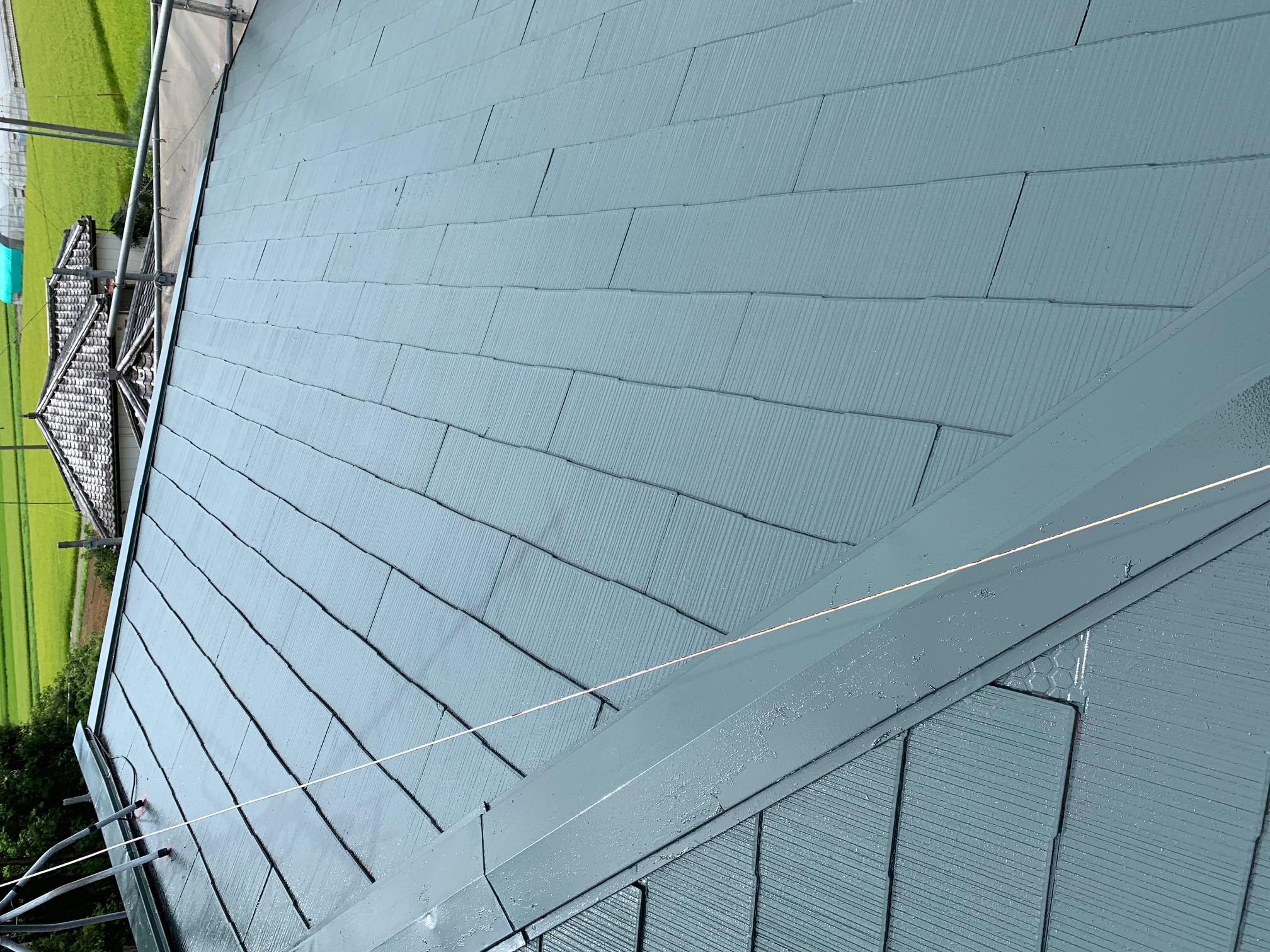 児玉N様邸屋根塗装