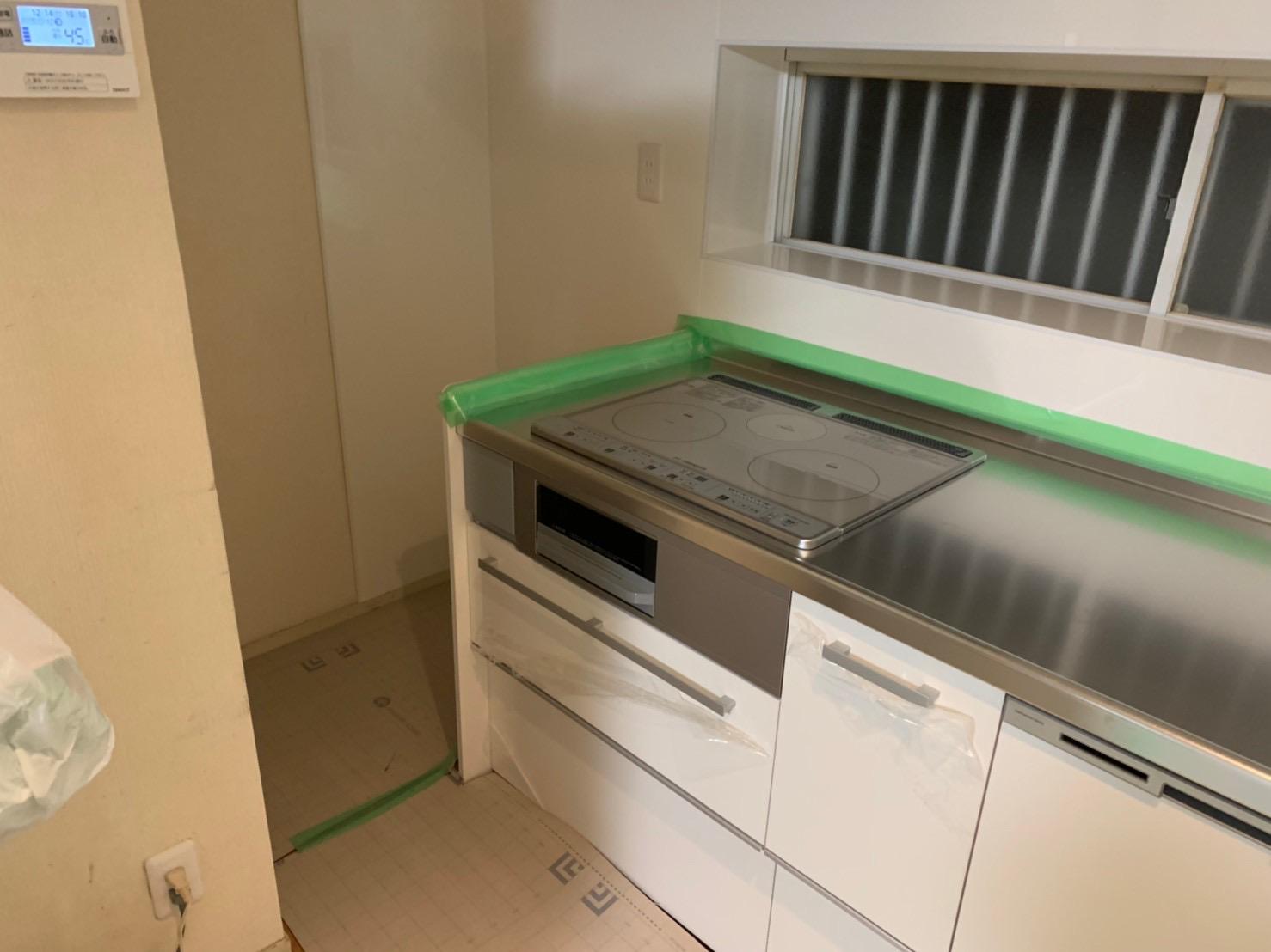 羽曳野市キッチン改修工事