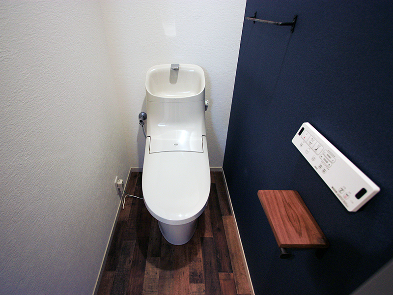 大人っぽいトイレに