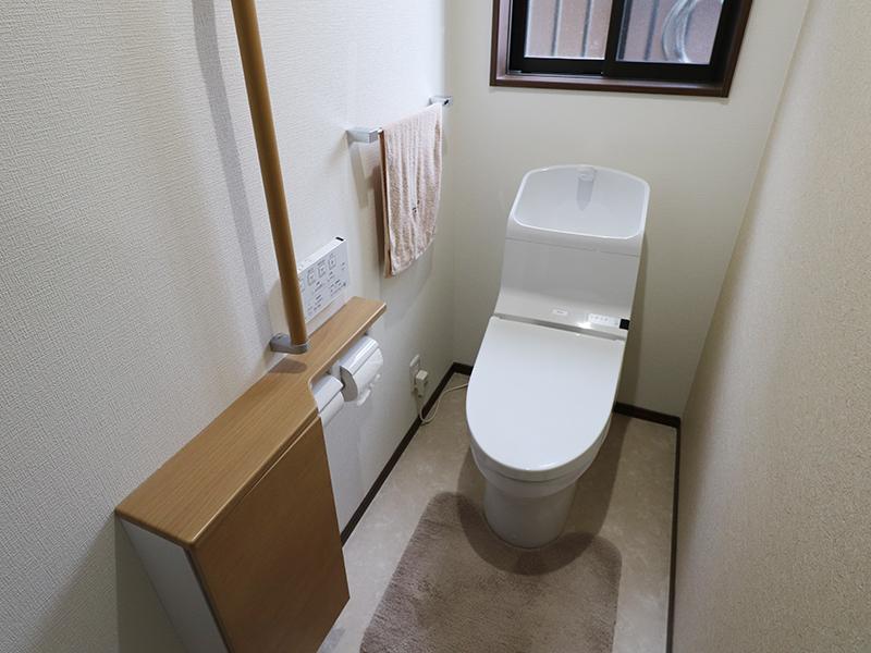 清潔感のある美しいトイレ